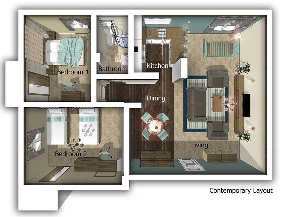 Mansouri Mansions Innsight Design